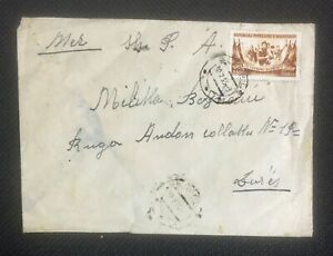 Albania Vintage Circulated Cover Selenice to Durres 1955 - 3009