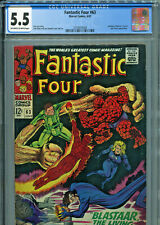Fantastic Four #63 (Marvel 1967) CGC Certified 5.5