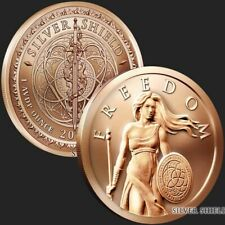 New listing Silver Shield | Standing Freedom 2019 | 1 oz Avdp .999 Pure Copper Round