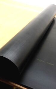 "Neoprene Rubber Sheet  Solid 1/8"" Thk x 36"" x 72"" 2-Sq Yd   70 Duro Firm Flex"