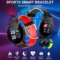 Bracelet montre intelligente Moniteur fréquence cardiaque Fitness Tracker SC