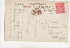 Miss S Spray Crossman Street Sherwood Nottingham 1933 364b