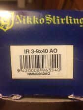 Nikko Stirling Mountmaster 3-9x50 AO  Air Rifle Rimfire Scope Sight