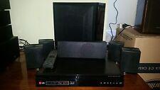 KIT HOME THEATRE CON LETTORE BLURAY DISK/DVD LG BH6230, LEGGE DA USB, PERFETTO