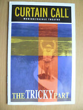 2002 CURTAIN CALL MCGINN Theatre Programme: THE TRICKY PART by MARTIN MORAN