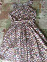 EUC Girls CrewCuts Butterfly Summer Spring Dress Size 10