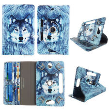 "8 INCH TABLET CASE 8"" UNIVERSAL FOLIO STANDING COVER WOLF"