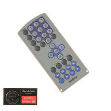 INSIGNIA PORTABLE DVD Remote Control w/Batteries-Fully Tested 1 Year Warranty