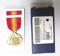 Authentic National Defense Medal & Ribbon Set - Genuine U.S. Military Medal