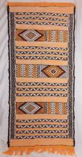 FAIR TRADE MOROCCAN WOOL KILIM CARPET RUG WALL NOMAD BERBER HAND MADE IN MOROCCO