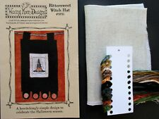 New ListingBittersweet Witch Hat Halloween Counted Cross Stitch Kit Waxing Moon Designs