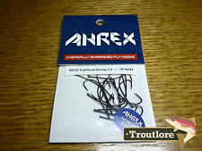 18 x AHREX NS156 #6 NORDIC SALT TRADITIONAL SHRIMP HOOKS NEW FLY TYING MATERIALS
