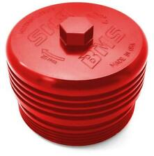 Bms Billet Bmw Oil Filter Cap for N54 N55 S55 N51 N52 N20 Bmw Engines (Red)