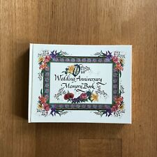 Nittany Quill Watercolor Illustrated Wedding Anniversary Memory Book Wakelin, R