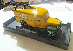 SOLIDO 1:43 SCALE ~ 'SIXTIES' 4556 DODGE DEPANNEUSE (TOW TRUCK) YACCO