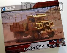 Rubicon Models: 280056 - British CMP 15cwt Truck - Bolt Action & 28mm WW2 Games