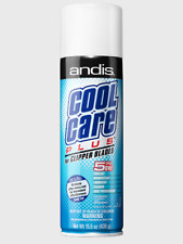 Andis Cool Care Plus 15.5 Oz Spray For Clipper Trimmer Blade Cleaner Lubricant
