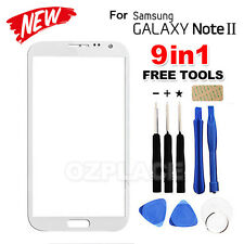 Premium A Outer Glass Screen Lens Replacement for Samsung Galaxy Note 2 White