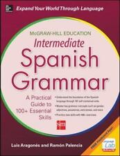 NEW - McGraw-Hill Education Intermediate Spanish Grammar (NTC Foreign Language)