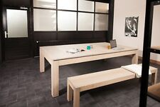 Buffalo 8ft Grey Ash American Pool/ Dining Table- Ex Coventry Showroom Table