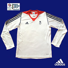ADIDAS TEAM GB RIO 2016 OLYMPICS UNISEX ELITE ATHLETE L/S TEE SHIRT Size 34/36