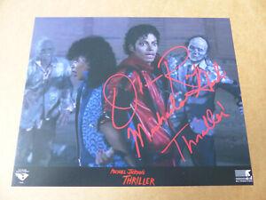 OLA RAY signed Autogramm signiert auf 20x25 cm THRILLER MICHAEL JACKSON Foto