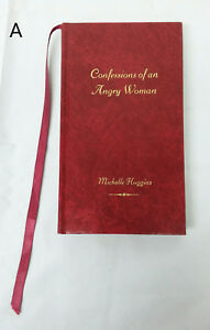 RARE SIGNED Confessions of an Angry Woman by Michelle Huggins Poetry Poem