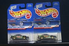 2 NEW HOT WHEELS 1998 FIRST EDITIONS MUSTANG COBRA 665 18/40 GOLD LACE