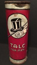 Antique Early 1900's Talc For Men Aywon Laboratories Canada RARE