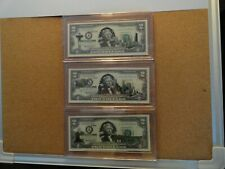 50 State Overlay Two Dollar Bill Your Choice of State / 600 to choose from