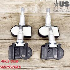 4pcs For Chrysler Dodge Jeep TPMS Tire Pressure Sensor 56029526AA 315MHz OEM US