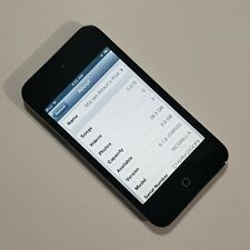 Apple iPod Touch4th Generation Black 32GB MP3 Player A1367 Speaker Works Great