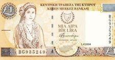 2004 Central Bank Cyprus 1 Pound GEM UNC <P-60d>
