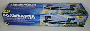 Pondmaster 02940 40 Watt Submersible UV Water Clarifier/Sterilizer Pond Aquarium