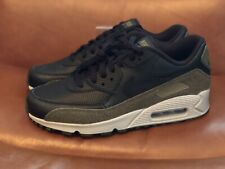 ee2322a00b NIKE AIR MAX 90 HAL SZ 10 PATCH LOGO BLACK OLIVE GREEN SILVER AH9974
