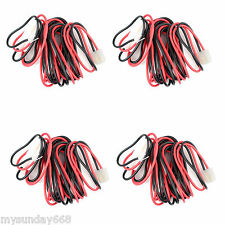 4X DC Power Cable for Kenwood YAESU ICOM Mobile Car Radio + T shape connector BC