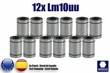 Rodamientos LM10UU 12 unidades pcs 12 x LM10UU bearing reprap 3d Printer CNC