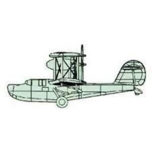Trumpeter 04208 1/200 Walrus Plane Plastic Model Kit
