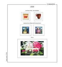 Stamp Pages Filkasol Unmounted Canada Tomo II