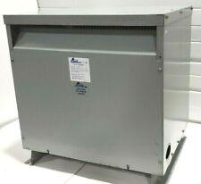TESTED ACME T-2-79370-4S 75 KVA STEP UP TRANSFORMER 208V to 480V 277V 3-PHASE