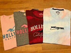 Hollister 4 x Shirts Damen Gr.S