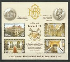 X0065 2013 ROMANIA ARCHITECTURE THE NATIONAL BANK OF ROMANIAN PALACE 1KB MNH