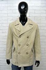 Giacca Uomo TRUSSARDI SPORT Taglia 50 Cappotto a Costine Jacket Man  Imbottito 21a29966a47