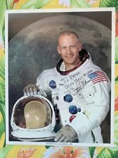 Buzz Aldrin Signed Auto Autograph 8x10 Official NASA Photo 🎁FREE SHIPPING🎁
