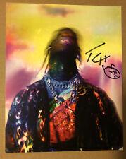 Travis Scott Signed Autographed Lithograph Astroworld 8 X 10
