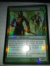 Viridian Betrayers New Phyrexia foil mtg Magic the gathering cards LP/NP