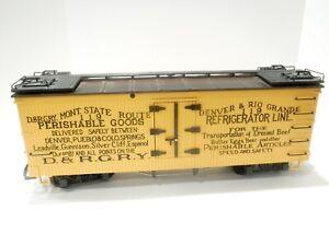 LGB 4174 Refrigerator Car D&RG Box Car G SCALE w/ Box *003