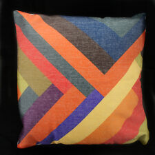 "NEW 18"" Vintage Cotton Linen Cushion Cover Home Decor Decorative pillow case 068"