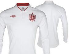 UMBRO England Retro Manche Longue Maillot Domicile Saison 30.5-33cm Blanc