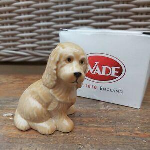2001 Wade Collectors Meet Piece. ARUNDEL PUPPY - Honey Boxed